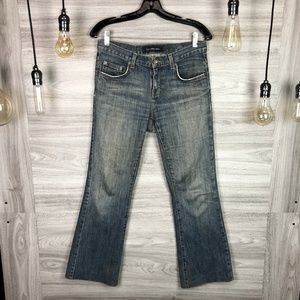 Calvin Klein Washed Flare Jeans Size 30